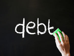 get rid of debt and get a mortgage