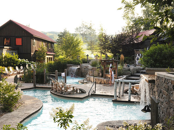 Relax at the Scandinave Spa