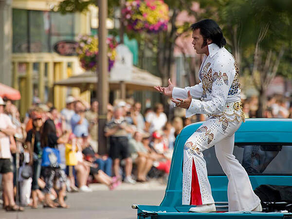 Family fun at the Collingwood Elvis Festival
