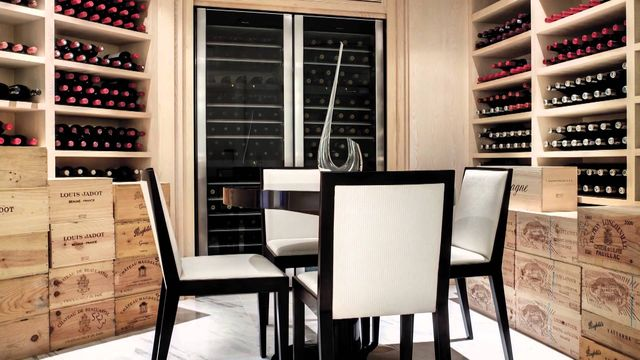 Build Wine Cellar in Collingwood Homes