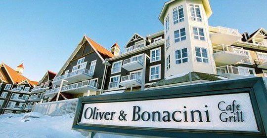 Oliver Bonacini Restaurant in Blue Mountains Ontario