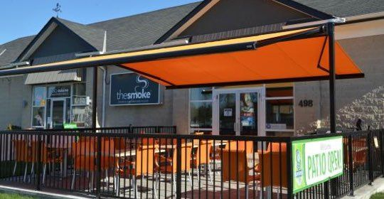 The Smoke Restaurant in Collingwood Ontario
