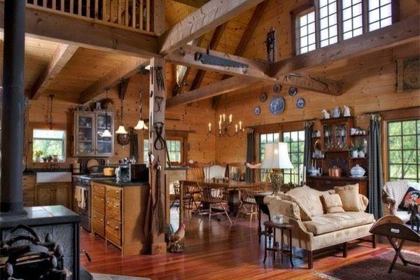 Rustic looks in Collingwood Homes
